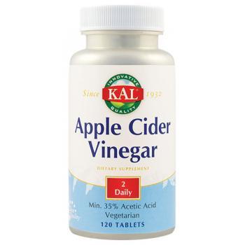 Apple cider vinegar 120 tbl KAL