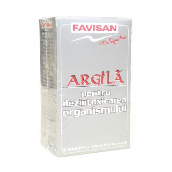 Argila pulbere a001 100 gr FAVISAN