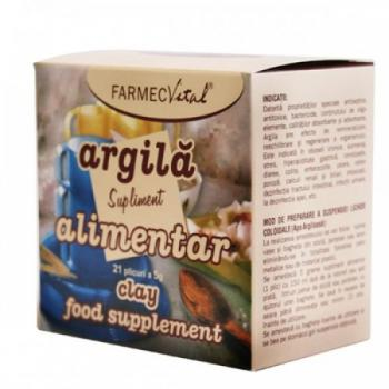 Argila, supliment alimentar 21 pl FARMEC