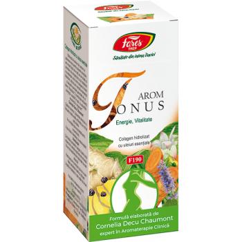 Arom tonus-pulbere cu colagen 80 gr FARES