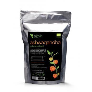 Ashwagandha pulbere ecologica (bio) 125 gr NIAVIS