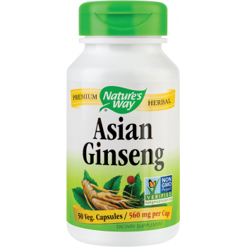 Asian ginseng - Korean ginseng 50 cps NATURES WAY