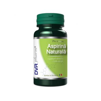 Aspirina naturala 60 cps DVR PHARM