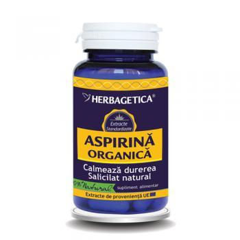 Aspirina organica 30 cps HERBAGETICA