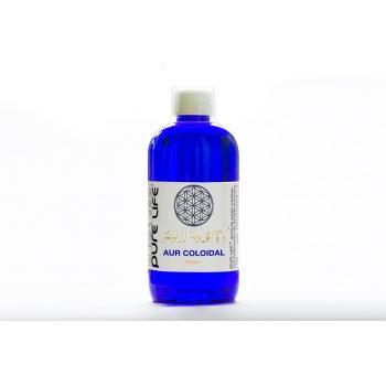 Aurum-Aur coloidal ionic 20ppm 480 ml ARGENTUM +
