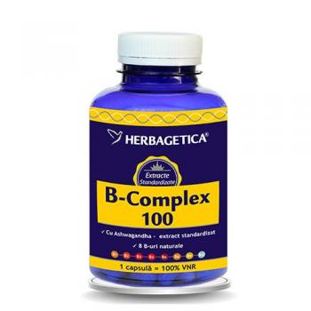 B complex 100 120 cps HERBAGETICA