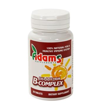 B complex 30 tbl ADAMS SUPPLEMENTS