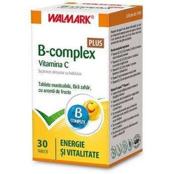 B complex+ vitamina c 30 tbl WALMARK