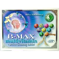 B-max multivitamine +aktiv ginseng