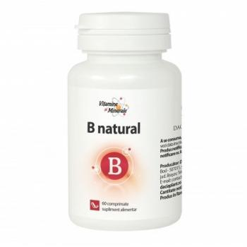 B natural 60 cpr VITAMINE SI MINERALE