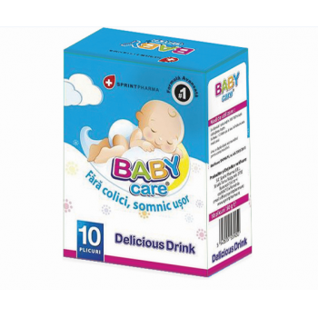 Baby care drink 10 pl SPRINT PHARMA