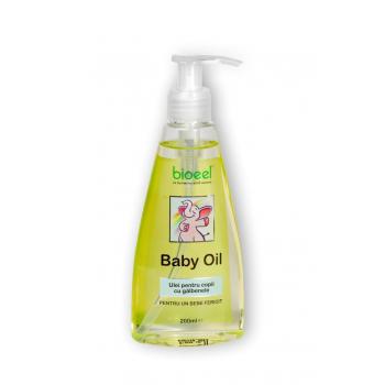 Baby oil, ulei pentru copii cu galbenele 200 ml BIOEEL
