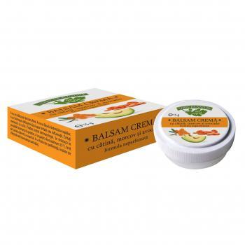 Balsam crema catina cu morcov si avocado  15 ml MANICOS