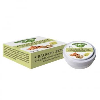 Balsam crema migdale cu macadamia si struguri  15 ml MANICOS