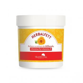 Herbalfett balsam cu galbenele si vitamina e si a  250 ml PARAPHARM