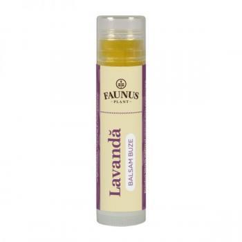 Balsam de buze cu lavanda 5 ml FAUNUS PLANT