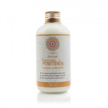Balsam de par cu henna si aloe vera 200 ml HENNA MANDALA