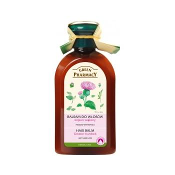 Balsam impotriva caderii parului cu ulei de brusture 300 ml GREEN PHARMACY