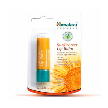 Balsam pentru buze cu protectie uv (sun protect lip balm) 5 gr HIMALAYA