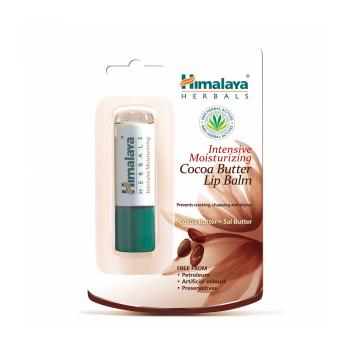 Balsam pentru buze cu unt de cacao (intensive moisturizing cocoa butter lip balm) 4,5 gr HIMALAYA