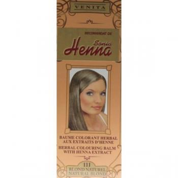 Balsam pentru colorare nr.111 blond natural 75 ml HENNA SONIA