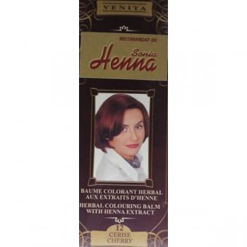 Balsam pentru colorare nr.12 cherry 75 ml HENNA SONIA