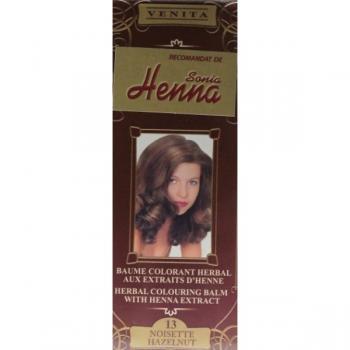 Balsam pentru colorare nr.13 aluna 75 ml HENNA SONIA