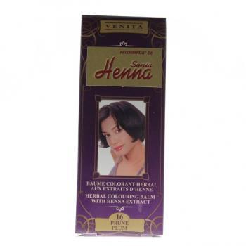 Balsam pentru colorare nr.16 pruna 75 ml HENNA SONIA