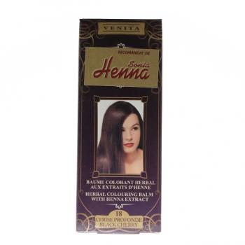 Balsam pentru colorare nr.18 cireasa neagra 75 ml HENNA SONIA