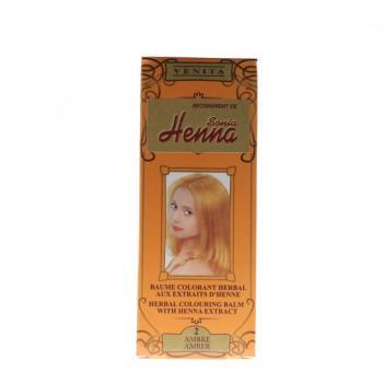 Balsam pentru colorare nr.2 ambra 75 ml HENNA SONIA