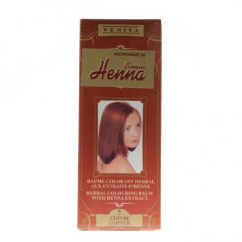 Balsam pentru colorare nr.7 cupru 75 ml HENNA SONIA