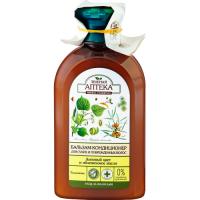 Balsam pentru par uscat cu extract de tei si ulei de catina
