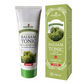 Balsam tonic maini si picioare cu extract de salcie la tub 100 ml VERRE DE NATURE