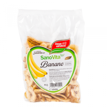 Banane uscate 150 gr SANO VITA