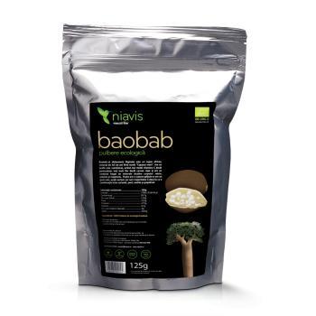 Baobab pulbere ecologica (bio) 125 gr NIAVIS