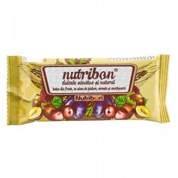 Baton cu fructe & alune nutribon  1 gr PLANTEXTRAKT