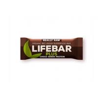 Baton cu proteine si ciocolata raw bio