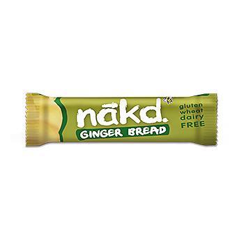 Baton nakd cu ghimbir 35 gr UNICORN NATURALS