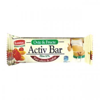 Baton ovaz iaurt +fructe exotice 30 gr ROMMAC
