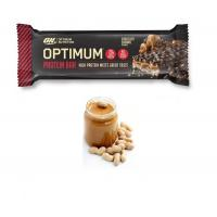 Baton proteic on optimum protein bar chocolate peanut butter 62gr OPTIMUM NUTRITION