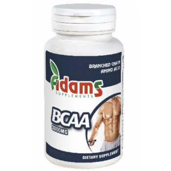 Bcaa 3000mg  30 tbl ADAMS SUPPLEMENTS
