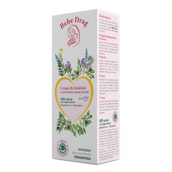Bebe drag crema de fundulet cu unt de shea si extract de ovaz 75 ml VIVA NATURA