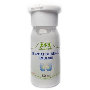 Benzoat de benzil emulsie  50 ml INFOFARM