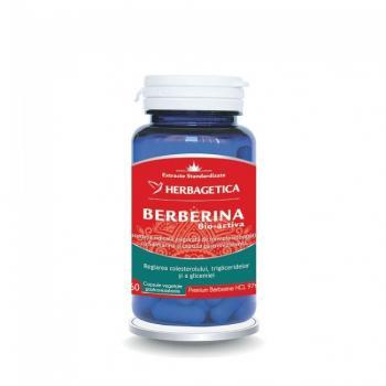 Berberina bio activa  30 cps HERBAGETICA