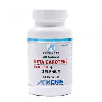Beta caroten cu seleniu 60 cps FORMULA K
