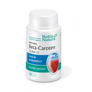 Beta-caroten natural 30 cps ROTTA NATURA