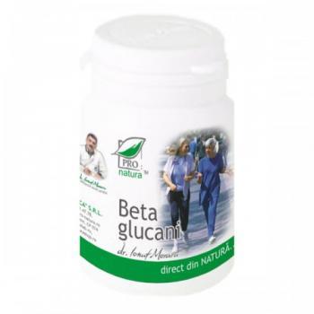 Beta glucani 60 cps PRO NATURA