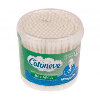 Betisoare cotoneve biodegradabile la cutie 200 gr COTONEVE