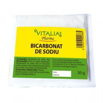 Bicarbonat de sodiu 50 gr VITALIA - VIVA