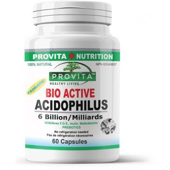 Bio Active Acidophilus 60 cps PROVITA